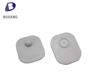 ABS New Material Magnetic locking EAS RF Square Tag RF Square Tag Magnetic locking EAS RF Square Tag